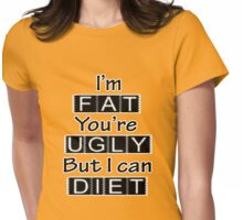I'm Fat Womens Fitted T-Shirt