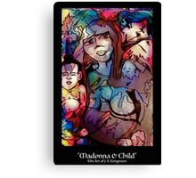 The Madonna & Child (Mother Mary & Baby Jesus) Canvas Print