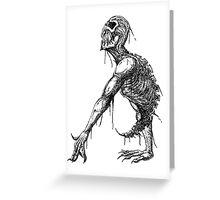 Creeping Death Greeting Card