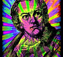 WILLIAM BLAKE-PSYCHEDELIC by OTIS PORRITT