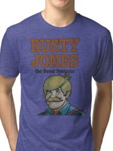 Rusty Jones Rust Prevention - LoFi Tri-blend T-Shirt