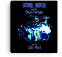 Jimmy James and the Blue Flames Jimi Hendrix Canvas Print