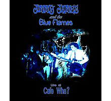 Jimmy James and the Blue Flames Jimi Hendrix Photographic Print