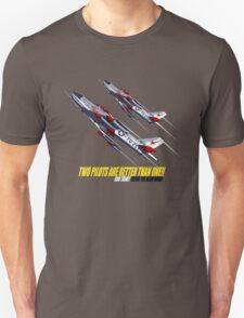 Two Pilots Are Better Than One - Wings T-Shirt