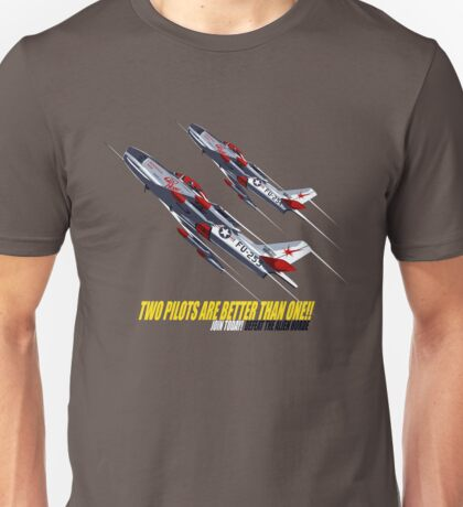 Two Pilots Are Better Than One - Wings Unisex T-Shirt