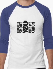 Love To Shoot You Men's Baseball ¾ T-Shirt