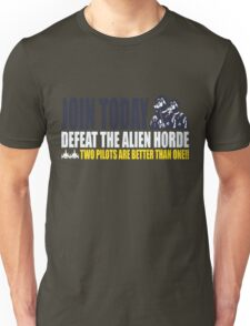 Two Pilots Are Better Than One  Unisex T-Shirt