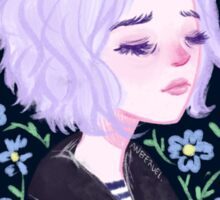 Riley Blue by Ane Teruel Sticker