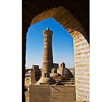Kalyan Minaret & Trading Domes Photographic Print