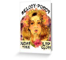 Melody Pond's Judas Tree Lipgloss Greeting Card