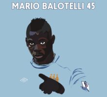 Mario Balotelli #45 by Henrique Gonçalves