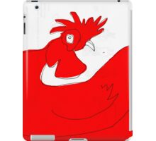 little red rooster iPad Case/Skin