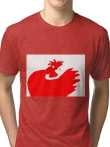 little red rooster Tri-blend T-Shirt