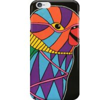 Abstract bird colorful design iPhone Case/Skin