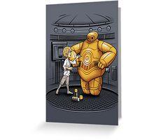 Big Hero 3PO Greeting Card