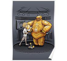Big Hero 3PO Poster