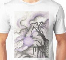 Tree in Moonlight Unisex T-Shirt