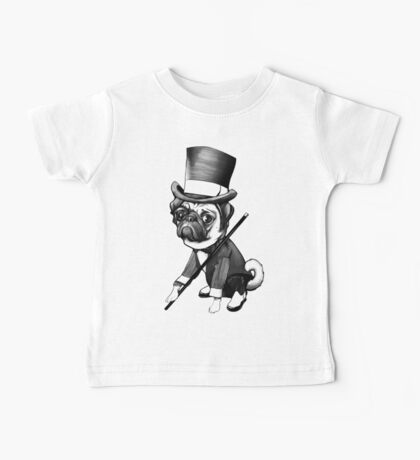 Pug Fred Astaire Kids Clothes