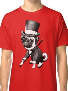 Pug Fred Astaire Classic T-Shirt