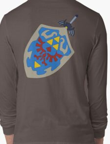 Hylian Shield and Master sword Long Sleeve T-Shirt