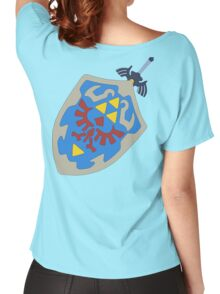 Hylian Shield and Master sword Women's Relaxed Fit T-Shirt