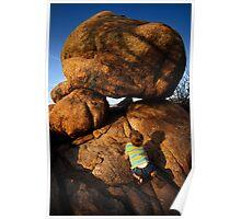 Rock Toddler Poster