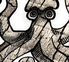 brittle squid Sticker