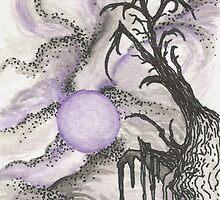Tree in Moonlight by Anthony McCracken