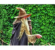 The Wizard from Afar Photographic Print