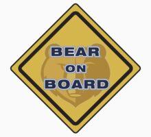 Bear on Boad by Marcus Mawby