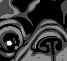 Pug Face Sticker