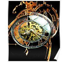 Analog > Digital Steampunk watch gears Poster