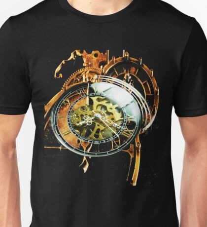 Analog > Digital Steampunk watch gears Unisex T-Shirt