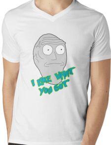 I like what you got - Cromulon - Rick and Morty Mens V-Neck T-Shirt