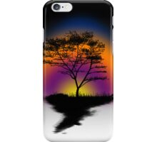 Sunset Trees iPhone Case/Skin