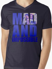 Mad and Impossible Mens V-Neck T-Shirt