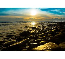 Shiny Rocks Photographic Print