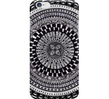 Circle mandala 2 iPhone Case/Skin