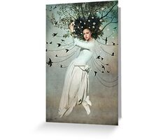 Come fly with me Greeting Card