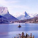 Saint Mary Lake & Wild Goose Island,  Montana, USA by Adrian Paul