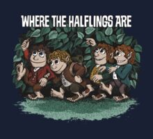 Where the Halflings Are One Piece - Short Sleeve