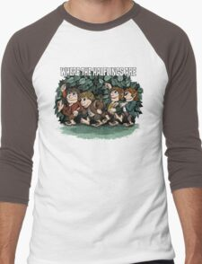 Where the Halflings Are Men's Baseball ¾ T-Shirt