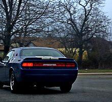 Dodge Challenger Blues by Jonny-McKinnon