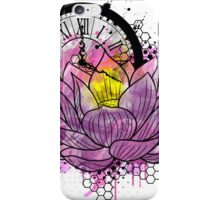 A Tranquil Time - Abstract Lotus iPhone Case/Skin