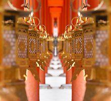 Golden Walkway by Sam Ryan