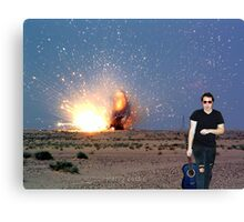 Richard BAMF Canvas Print
