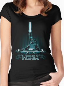 MEGA Women's Fitted Scoop T-Shirt