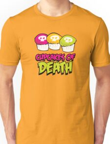 Cupcakes of death Unisex T-Shirt