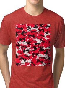 sleeping greyhounds Tri-blend T-Shirt