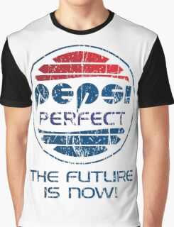 Pepsi Perfect - Distressed Graphic T-Shirt